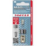 Lâmpada Kit Upgrade Xenon Original Maglite 3d Pilhas