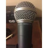 Microfonos Shure Sm58