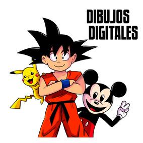 Dibujos Digitales Sh+