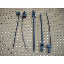 Abraçadeira Cofre Motor Gol Quadrado Kit C/ 05 Unidades