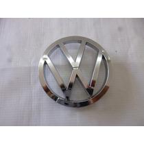Vw Sedan 1974-2004 Emblema Cofre Grande Cromo Vocho Autos