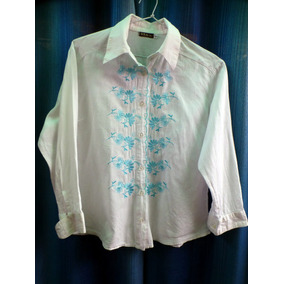 Camisa De Dama Sol Bs. As. Talle Xs