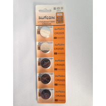 Bateria De Lition Cr 2025 Suncom 300 Un Kit 60 Cartelas