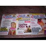 3 Revistas Salud Alternativa. Nutrición, Dieta Naturista