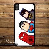 Case Protector Funda Carcasa Superheroes Sony Xperia Z1