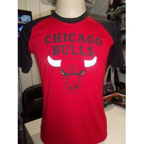 Camiseta Chicago Bulls Manga Haglã