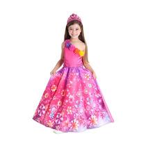 Fantasia Da Barbie E O Portal Secreto Luxo Original P Ou G