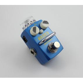 Mini Pedal Guitarra Baixo Hotone Blues Overdrive Distorção