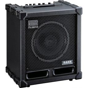 Amplificador Contra Baixo Roland Cb60xl Na Cheiro De Música