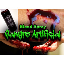 Sangre Artificial Líquida En Spray 60 Ml.