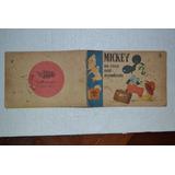 Mickey Na Casa Mal-assombrada-raridade-ano 1952
