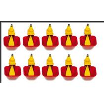 10 Bebedouro Automático Niple Com Copinho Para Aves P/ Pvc