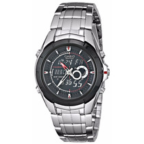 Relógio Casio Efa119bk-1av - Frete Grátis!