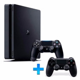 Playstation 4 Slim Sony 500gb Ps4 Original Bivol 2 Controles