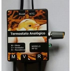 Termostato Analógico + Temporizador Rp03 + Resistencia 110v