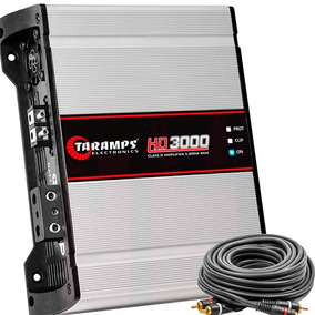 Módulo Taramps Hd3000 3000w Rms Amplificador Digital Hd 3000