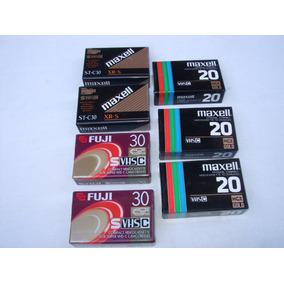 Videocassette Vhs C Nuevo Maxell Y Fuji