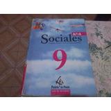 Libro De Ciencias Sociales(geografia-historia Y Form.etica)