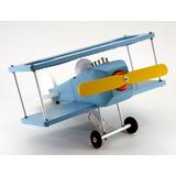 Luminária Avião De Mesa Quarto De Criança Design Exclusivo