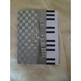 Capa Para Hinário Ccb Médio Música Organista Com Espiral