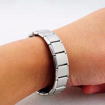 Brazalete Pulcera Magnetica De Acero Titanio + Envió Gratis
