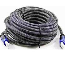 Cabo Hdmi 15m Blindado 1.4 Ethernet 15 Metros Full Hd 3d