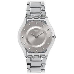 Swatch Breeze Mujeres Del Resorte Del Reloj - Gris