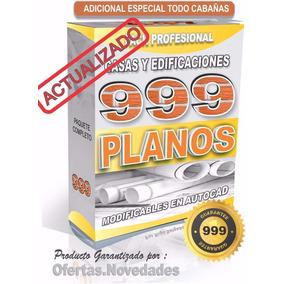 1000 Planos Profesionales De Casas Hechos En Autocad Unico