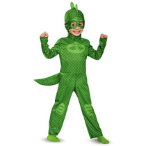 Disfraz Pj Mask Gekko Heroes Pijamas Importados Originales