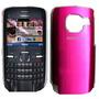Funda Tapa Acrilico Nokia C3 Cover Pink-rosa-fucsia