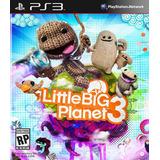 Little Big Planet 3 Ps3 Digital Gcp