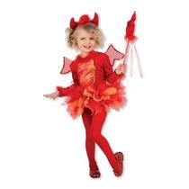 Disfraz Diablita Niña Diablito Halloween