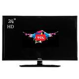 Tv Tcl 24 L24d2700 Led Hd Hdmi Vga Pc Tda Monitor Oferta!