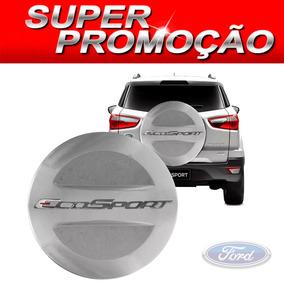 Capa De Estepe Ford Ecosport Todas Prata Enseada C-juros