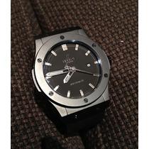 Relógio Geneve Caixa 42 Mm Aço Inox Pronta Entrega