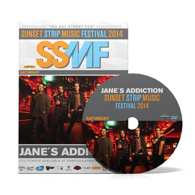 Jane´s Addiction Dvd Sunset Strip Festival 2014 Frete Gratis