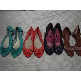 Zapatos Chatitas Plataformas Boca De Pez