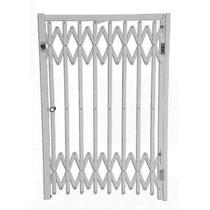 Pantografica Grade De Proteção Portão Sanfonada Alumínio