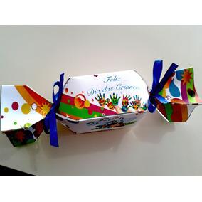 Caixa De Bala/ Bombom Personalizada- Dia Das Crianças-10unid