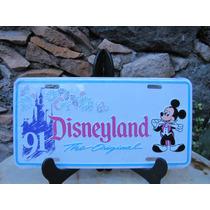 ((((placa Decorativa Disneyland, Miky De Los 90s Nueva )))))