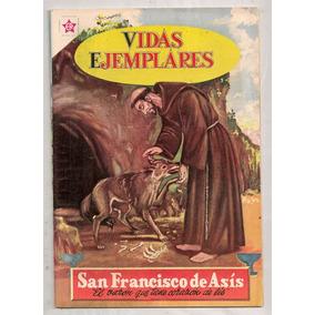 Comic Vidas Ejemplares San Francisco De Asís Novaro 1960