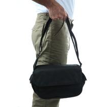 Bolsa Embornal Estilo Carteiro Masculina Em Nylon 600 Fb0311