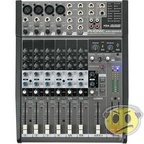 Mesa Som Phonic Am1204fx 8 Canais Efeito - Loja Kadu Som