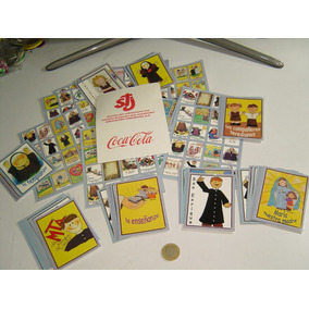 Vintage Lotería Coca Cola Monjitas Teresianas