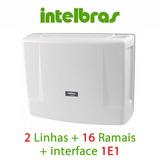Central Pabx Intelbras Impacta 68i 2 Linhas 16 Ramais + 1 E1