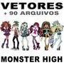 Vetores Monster High