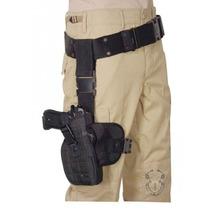 Piernera Con Funda Para Arma Voodoo Tactical Militar Policia