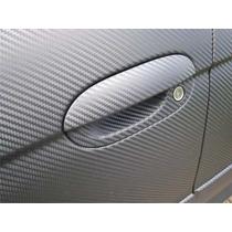 Adesivo Envelopamento Fibra Carbono Grafite 6x122