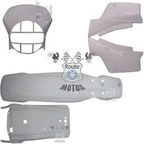 Kit Plástico Conjunto Xl 250r Xlx 250 Branco Paramotos Roupa