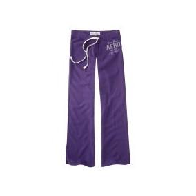 Pantalon Mono Morado Talla M Aeropostale Original!!!